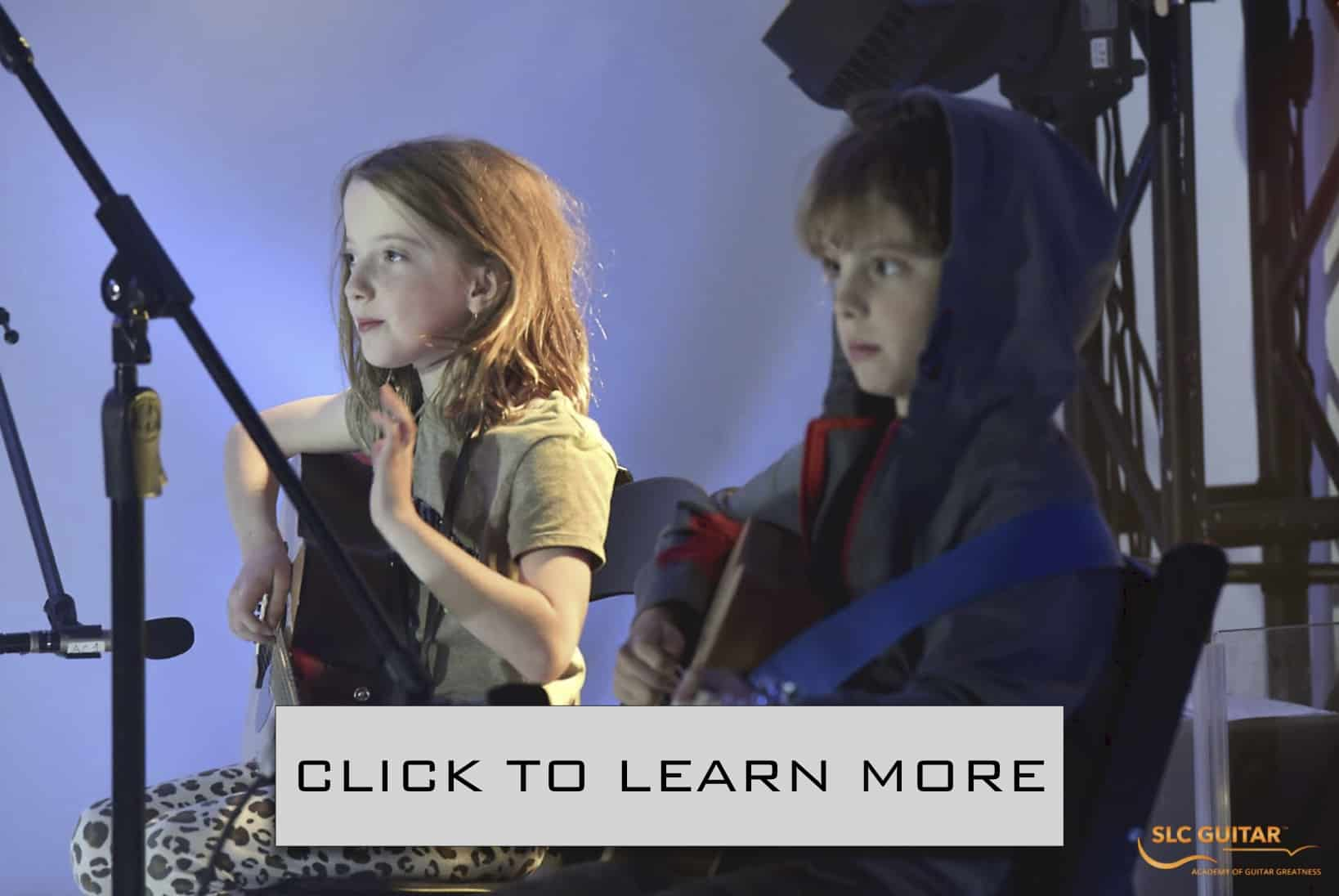 Kids Guitar Lessons | SLC Guitar